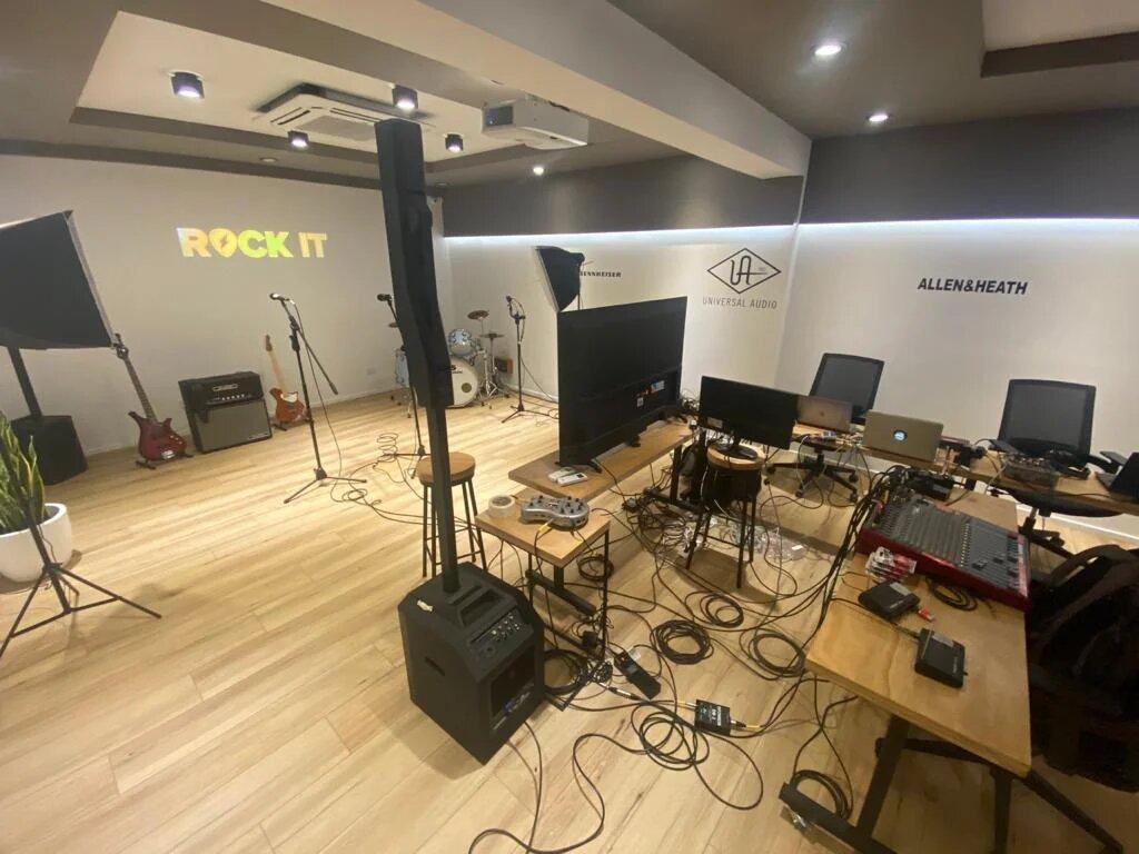 Grabación y producciones audiovisuales
