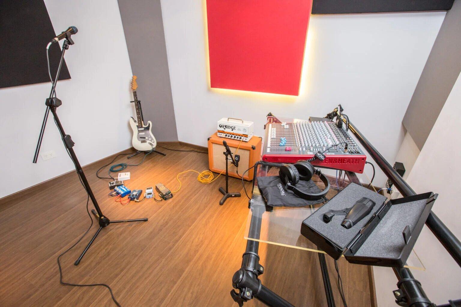 Salas ensayo para músicos y bandas